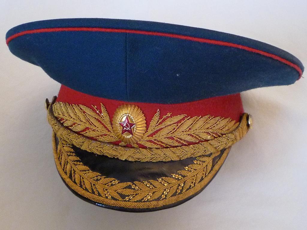 Casquette de Général Infanterie Tenue Parade